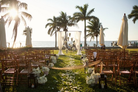 1 Ceremony on Lawn - Root Weddings