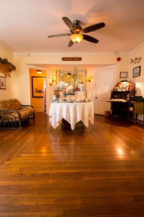 Foyer of Historic Tarpon Lodge